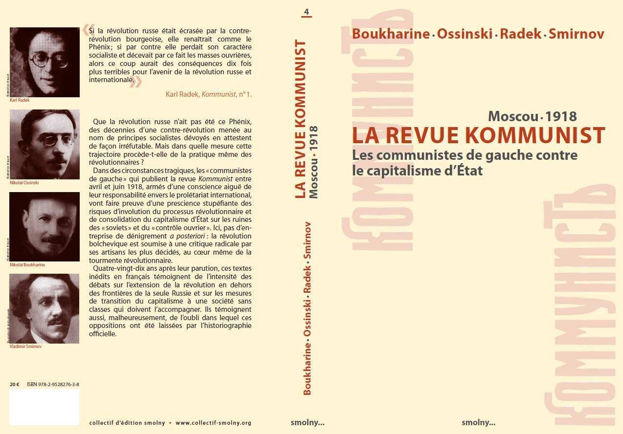 """La revue """"Kommunist"""" 1918"""